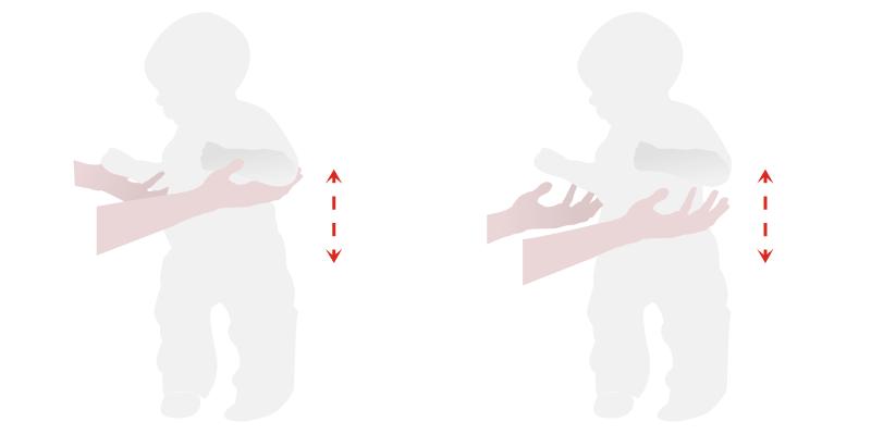 Гимнастика для малышей до года